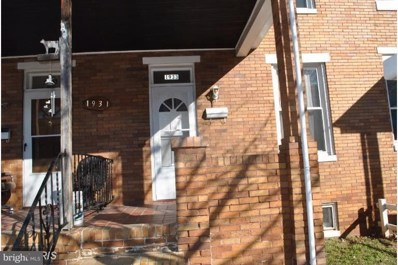 1933 Griffis Avenue, Baltimore, MD 21230 - MLS#: 1002055702