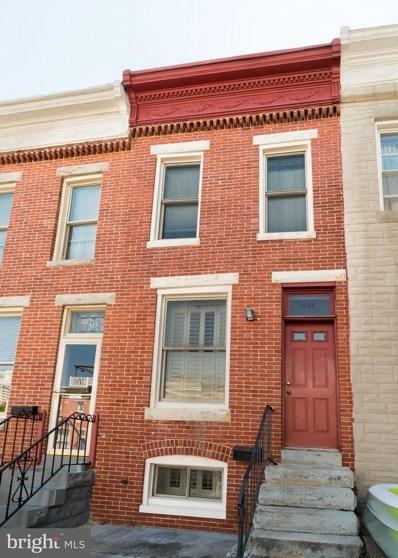 1323 Webster Street, Baltimore, MD 21230 - MLS#: 1002062572