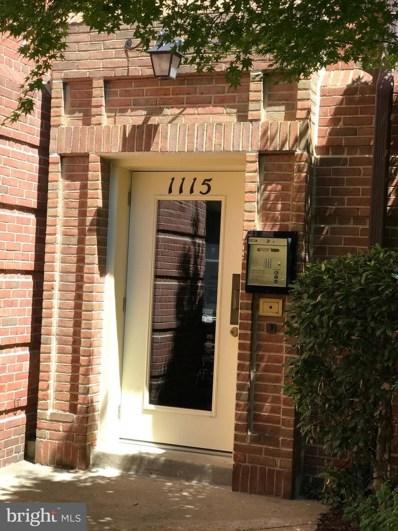 1115 Pitt Street N UNIT 1B, Alexandria, VA 22314 - MLS#: 1002062870