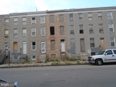 1834 McHenry Street, Baltimore, MD 21223 - #: 1002063224