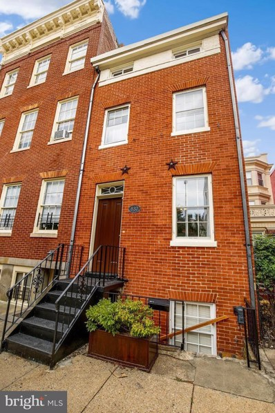 837 Park Avenue, Baltimore, MD 21201 - MLS#: 1002067604