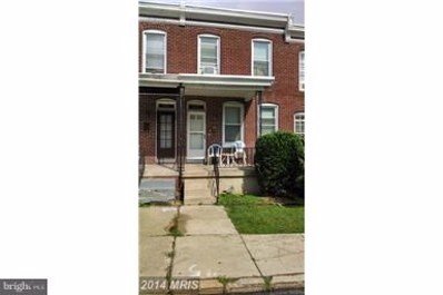3047 Mathews Street, Baltimore, MD 21218 - #: 1002070414