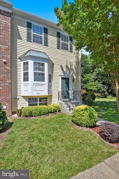 1934 Wicklow Court, Woodbridge, VA 22191 - MLS#: 1002077432