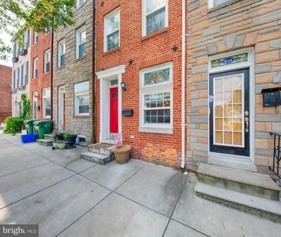 2723 Hudson Street, Baltimore, MD 21224 - #: 1002079122