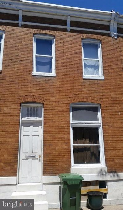 1318 Glyndon Avenue, Baltimore, MD 21223 - #: 1002083168