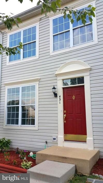 431 Andromeda Terrace NE, Leesburg, VA 20176 - MLS#: 1002089860