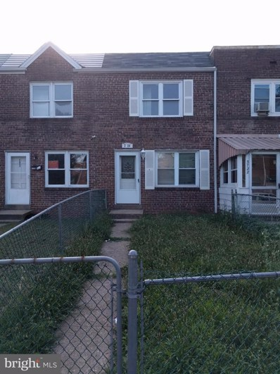 3724 Saint Margaret Street, Baltimore, MD 21225 - #: 1002091460