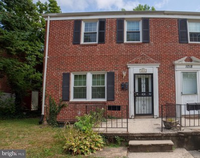 1016 Dartmouth Road, Baltimore, MD 21212 - MLS#: 1002092766