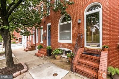 306 Randall Street E, Baltimore, MD 21230 - MLS#: 1002100194