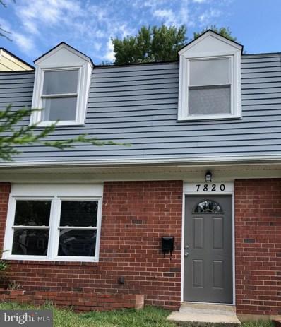 7820 Allendale Drive, Landover, MD 20785 - MLS#: 1002100976