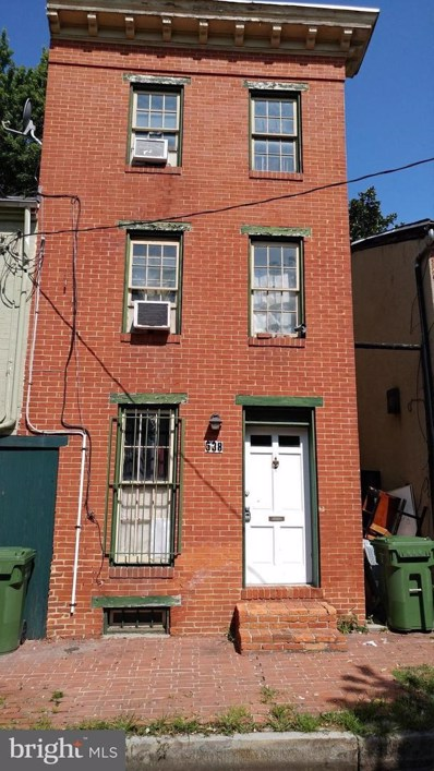 538 Saint Mary Street, Baltimore, MD 21201 - MLS#: 1002104758