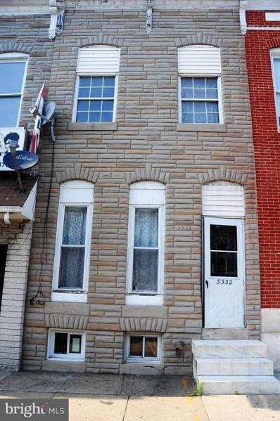3332 Baltimore Street, Baltimore, MD 21224 - MLS#: 1002119362