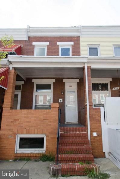 424 Robinson Street N, Baltimore, MD 21224 - #: 1002121166