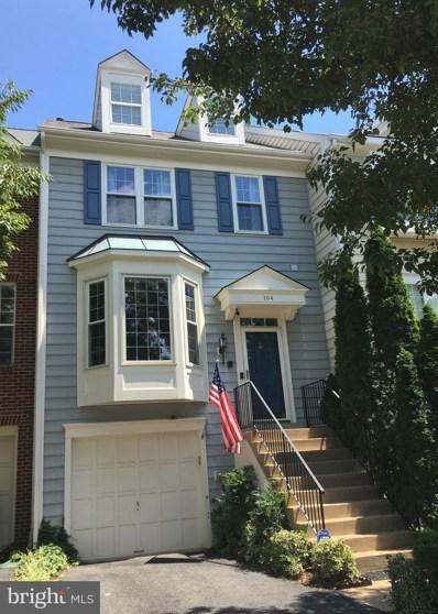 104 Connery Terrace SW, Leesburg, VA 20175 - MLS#: 1002121508
