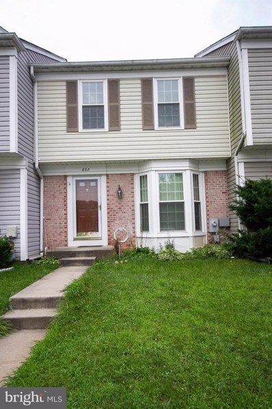 822 Brickston Road, Reisterstown, MD 21136 - #: 1002123570