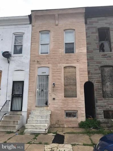 1419 Chester Street, Baltimore, MD 21213 - MLS#: 1002123876