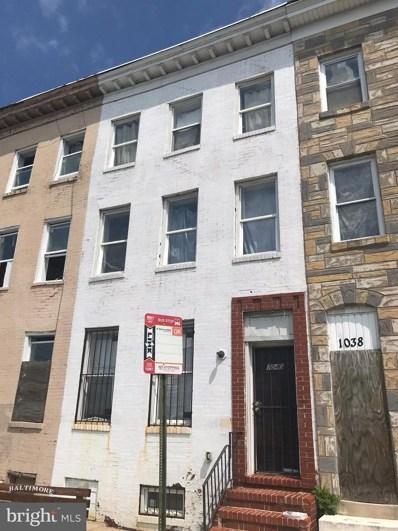 1040 Franklin Street, Baltimore, MD 21223 - #: 1002123920