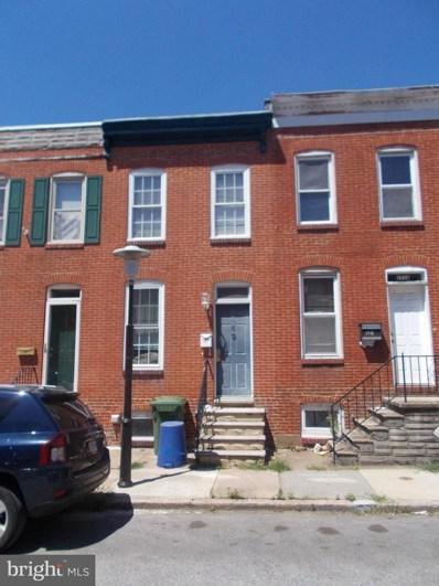 1718 Byrd Street, Baltimore, MD 21230 - #: 1002132998