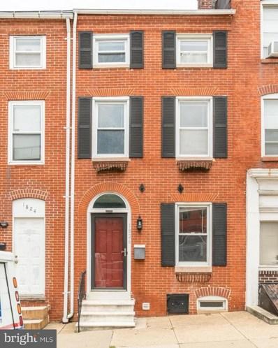 1826 Lombard Street, Baltimore, MD 21231 - MLS#: 1002133196
