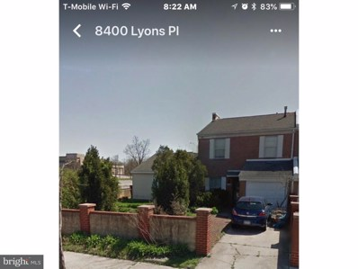 8400 Lyons Place, Philadelphia, PA 19153 - MLS#: 1002139622