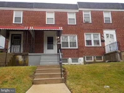 4305 Eldone Road, Baltimore, MD 21229 - #: 1002146342
