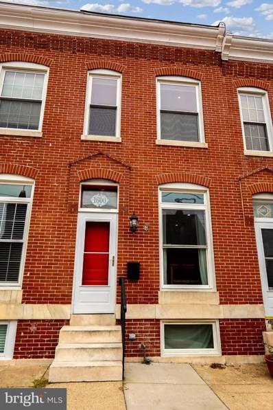 1606 Clement Street, Baltimore, MD 21230 - MLS#: 1002146912