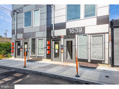 1641 N Philip Street UNIT A, Philadelphia, PA 19122 - MLS#: 1002148424