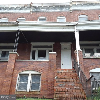 2729 Winchester Street, Baltimore, MD 21216 - #: 1002163148
