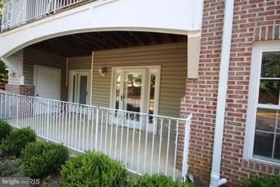 2001 Warners Terrace N UNIT 101, Annapolis, MD 21401 - MLS#: 1002193126