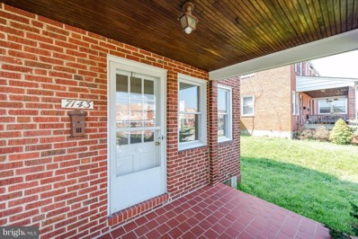 7143 Gough Street, Baltimore, MD 21224 - MLS#: 1002193964