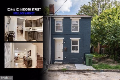 1029 Booth Street, Baltimore, MD 21223 - #: 1002200004