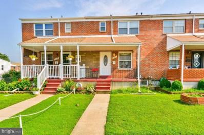 1017 Foxchase Lane, Baltimore, MD 21221 - #: 1002202384