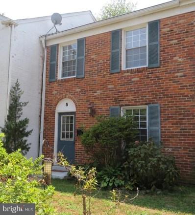 5 Dorchester Drive, Annapolis, MD 21403 - #: 1002216772