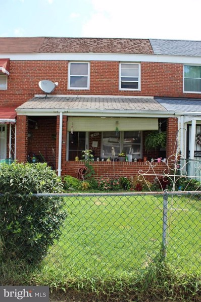 843 Mildred Avenue, Baltimore, MD 21222 - MLS#: 1002225478