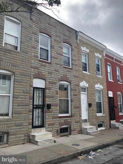 819 Port Street N, Baltimore, MD 21205 - #: 1002229244