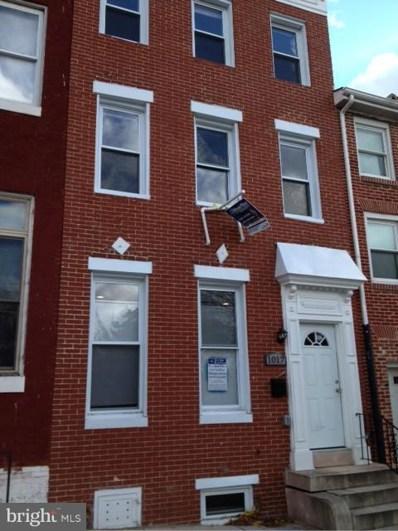 1017 Caroline Street N, Baltimore, MD 21205 - MLS#: 1002244788