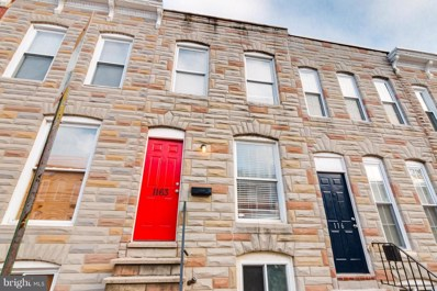 1163 Cleveland Street, Baltimore, MD 21230 - MLS#: 1002250800