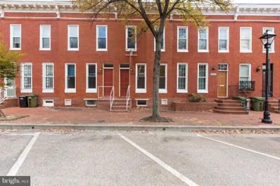 1028 Barre Street W, Baltimore, MD 21230 - MLS#: 1002252467