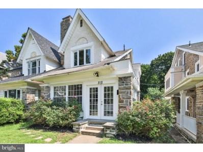 312 W Hortter Street, Philadelphia, PA 19119 - #: 1002253616