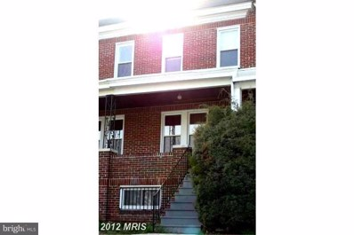 4014 Wilsby Avenue, Baltimore, MD 21218 - #: 1002254970