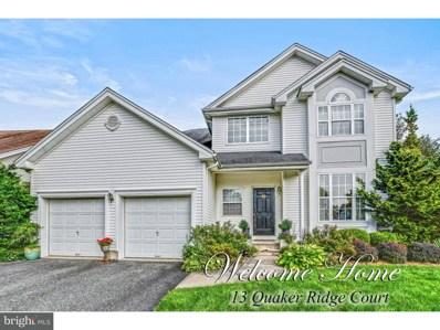 13 Quaker Ridge Court, Monroe, NJ 08831 - MLS#: 1002255268