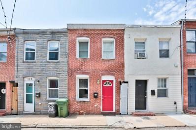 124 Chapel Street S, Baltimore, MD 21231 - MLS#: 1002258734