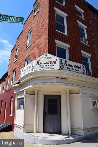 1301 Lombard Street, Baltimore, MD 21223 - #: 1002260848