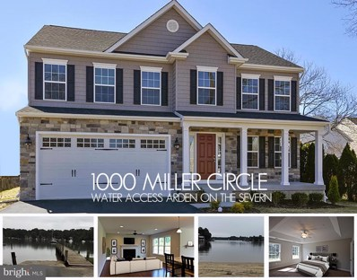 1000 Miller Circle, Crownsville, MD 21032 - #: 1002265590
