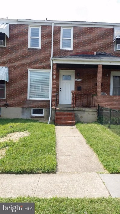 7916 St Claire Lane, Baltimore, MD 21222 - MLS#: 1002271470