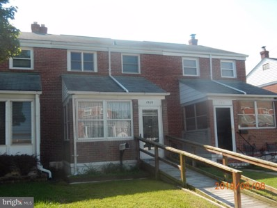 1909 Stanhope Road, Baltimore, MD 21222 - #: 1002272578