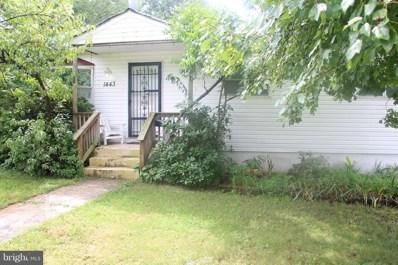 1443 G Street, Woodbridge, VA 22191 - #: 1002278118