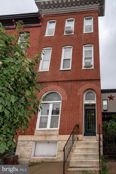 20 Chester Street S UNIT 2 REAR, Baltimore, MD 21231 - MLS#: 1002278734