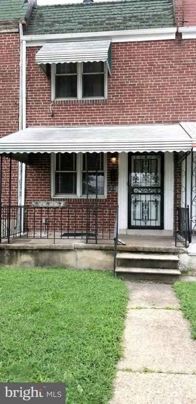 1316 Potomac Street N, Baltimore, MD 21213 - MLS#: 1002285464