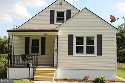 5603 Benton Heights Avenue, Baltimore, MD 21206 - #: 1002287686